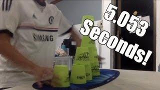 getlinkyoutube.com-Sport Stacking Cycle : 5.053!!!!!!!!!!!!!