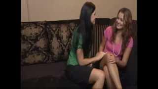 getlinkyoutube.com-Naughty Aunty Seducing Young Girl - Lesbs