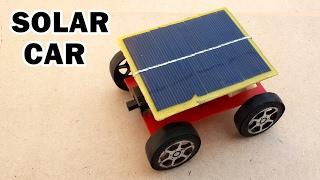 getlinkyoutube.com-How to Make a Solar Powered Toy Car at Home