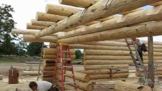 getlinkyoutube.com-Caribou Creek Handcrafted Log Home  Anaya 1775  2