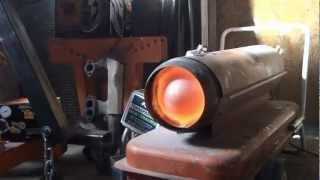 getlinkyoutube.com-Converting a shop heater to run on waste oils