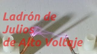 getlinkyoutube.com-Ladrón de Julios Modificado, más de 10,000 Volts
