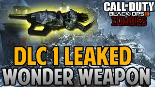 "Black Ops 3 Zombies ""THE IRON DRAGON"" LEAKED WONDER WEAPON FOUND in Bo3 Zombies DLC 1 LEAKED INFO?"