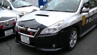 getlinkyoutube.com-警視庁 新型パトカー BMレガシィ・カーロケナビ (FullHD)