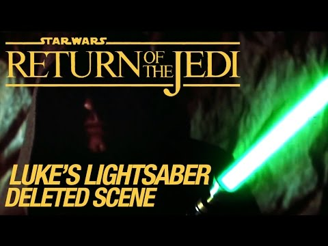 Star Wars VI Return of the Jedi Deleted Scene: Luke's Lightsaber HD
