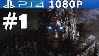 getlinkyoutube.com-Middle Earth Shadow of Mordor Walkthrough Part 1 Gameplay Let's Play  Review PS4 1080p