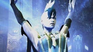 getlinkyoutube.com-Injustice: Gods Among Us - Regime Killer Frost Super Attack Moves [iPad] [REMASTERED]