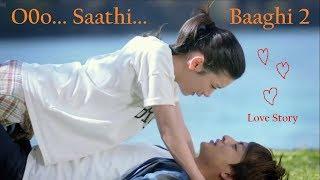 o saathi||Korean mix||Baaghi 2||love story||Korean version