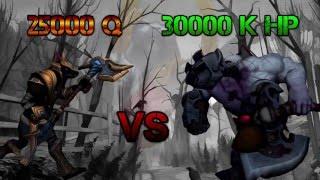 阿福 - 納瑟斯25000Q vs 賽恩30000HP