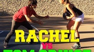 getlinkyoutube.com-Rachel Vs Tom Cruise: 1-on-1 Basketball Challenge