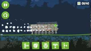 getlinkyoutube.com-Bad Piggies: Fastest possible vehicle