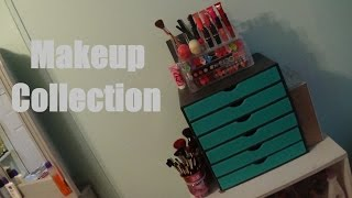 getlinkyoutube.com-Makeup Collection of a 15 Year Old