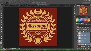 getlinkyoutube.com-Tutorial photoshop membuat desain kaos