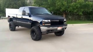 getlinkyoutube.com-Lifted chevy silverado