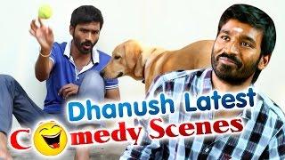 getlinkyoutube.com-Dhanush Comedy Secens || Raghuvaran Btech  || Latest Telugu Comedy