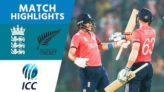 ICC #WT20 England v New Zealand - Semi-Final Highlights width=