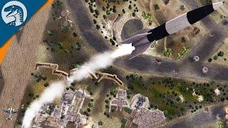 V2 ROCKET SUPER WEAPON LAUNCHING | LRB MOD | Men of War: Assault Squad 2 Gameplay