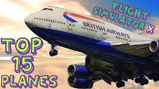 getlinkyoutube.com-Top 15 FSX Planes HD