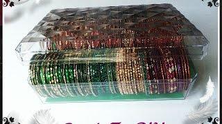 getlinkyoutube.com-DIY Bangles | Bracelets Storage Box From Chocolate Box - Ferrero Rocher