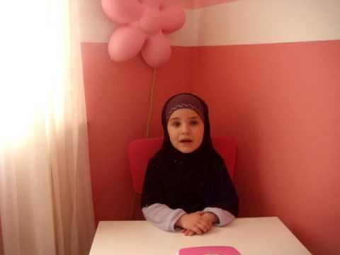 muslim kid reciting Quran surah Ad-Duha