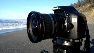 Canon EF-S 10-22mm Wide Angle Lens Unboxing & Review