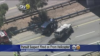 getlinkyoutube.com-Suspect Dies After Deputy Opens Fire From Helicopter Along 215 Freeway