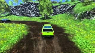 getlinkyoutube.com-Zabawy z Pickupem #2 - Wyścig świni po pustyni