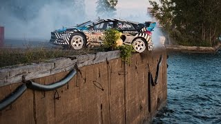 getlinkyoutube.com-[HOONIGAN] Ken Block's GYMKHANA NINE: Raw Industrial Playground
