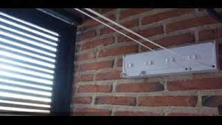 getlinkyoutube.com-Cómo poner un tendedero de pared | facilisimo.com