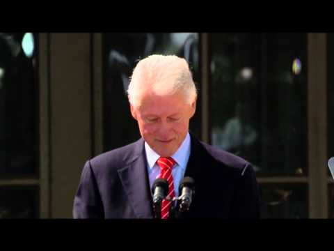 Bill Clinton: 'I Like President Bush'