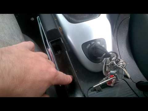 """Steering lock malfunction """"bypass"""""""