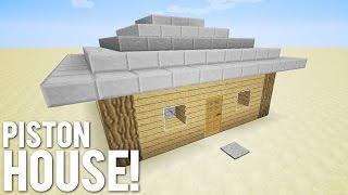 getlinkyoutube.com-Minecraft: 9x9 Piston House