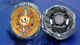 getlinkyoutube.com-Beyblade Flash Sagittario 230WD vs Diablo Nemesis X:D ベイブレード
