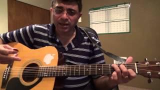 getlinkyoutube.com-Sangheetha Maegam Ilayaraja guitar chord lesson by Suresh