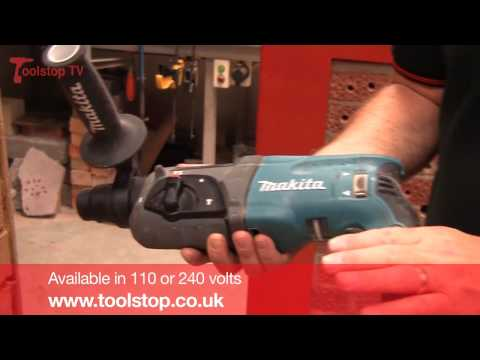 Product Review + Demo - Makita HR2470 Rotary Hammer Drill