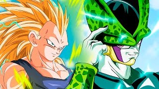 getlinkyoutube.com-VEGETA SUPER SAIYAN 3 VS CELL | DRAGON BALL SUPER CAPITULO 25