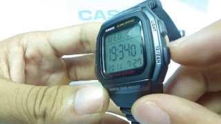 getlinkyoutube.com-Đồng hồ casio STANDARD W-96H-1BV