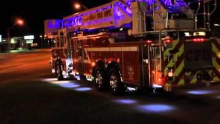 getlinkyoutube.com-CFD Columbia Fire Dept New Peirce 100ft platform