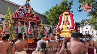 ஜெர்மனி சுவேற்றா ஸ்ரீ கனகதுர்க்கா அம்மன் கோவில் தேர்த்திருவிழா  25.07.2021