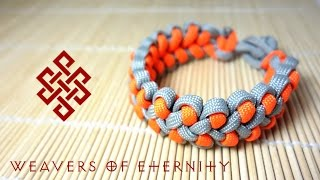 getlinkyoutube.com-How to Make the Dragon's Claw Paracord Bracelet with No Buckles
