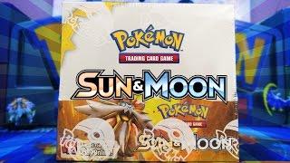 getlinkyoutube.com-OPENING A POKEMON SUN & MOON BOOSTER BOX OF POKEMON CARDS!!!