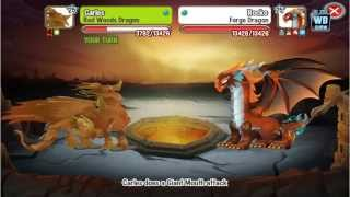 getlinkyoutube.com-Dragon City: All Cerberus Temple Battles