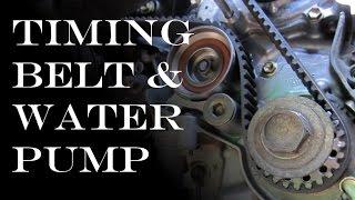 getlinkyoutube.com-Timing Belt / Waterpump Replacement: Toyota & Lexus V6