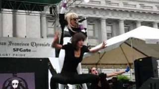 getlinkyoutube.com-Lady Gaga @ SF Pride 2008