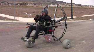 getlinkyoutube.com-Paramotoring The Flat Top Air Trike!!! The NEW Powered Paragliding 25 lb Paramotor Gear!