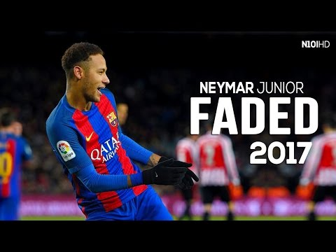 Neymar ● Invisible - Faded ● Crazy Dribbling Skills & Goals 2017 | HD