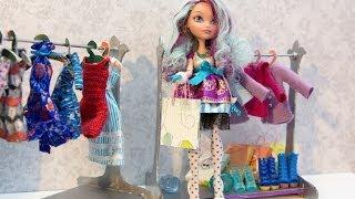 getlinkyoutube.com-Как сделать вешалку для кукольной одежды. How to make hanger.