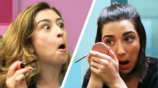 flushyoutube.com-Subway Makeup Challenge