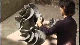 getlinkyoutube.com-Ceramic sculpture