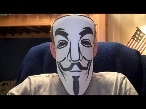 Anonymous Message to the Government from 9gag